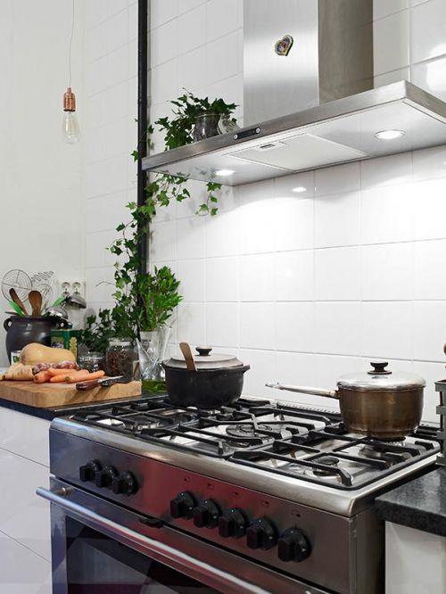 地中海美式混搭复古厨房设计案例展示