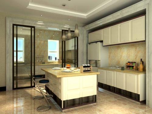 新古典厨房设计图