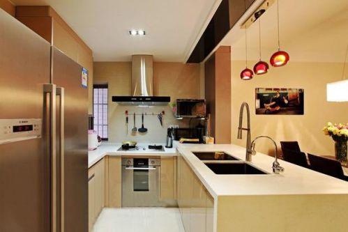 现代简约新古典厨房案例展示