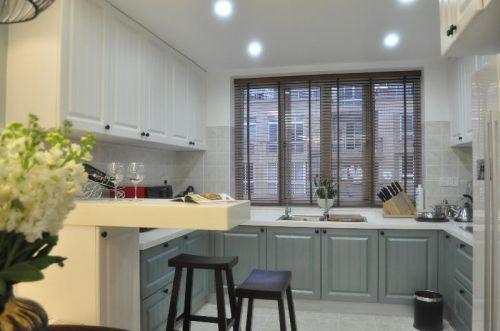 美式混搭厨房设计方案