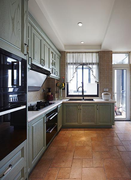 美式混搭厨房设计案例展示