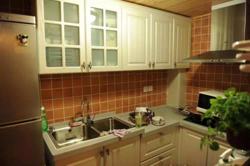 混搭厨房装修图