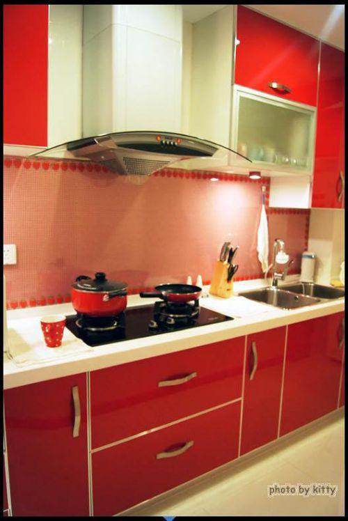 韩式混搭厨房设计图