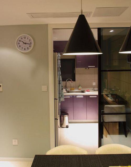 现代简约日式混搭厨房设计方案