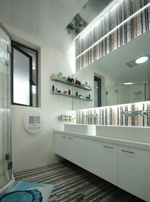 现代简约中式卫生间装修效果展示