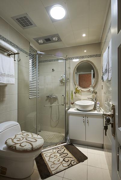 欧式古典卫生间图片