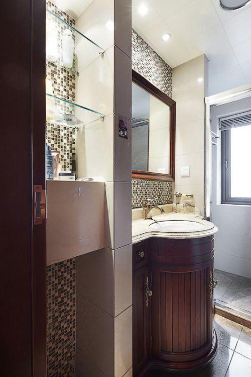 欧式新古典卫生间装修图