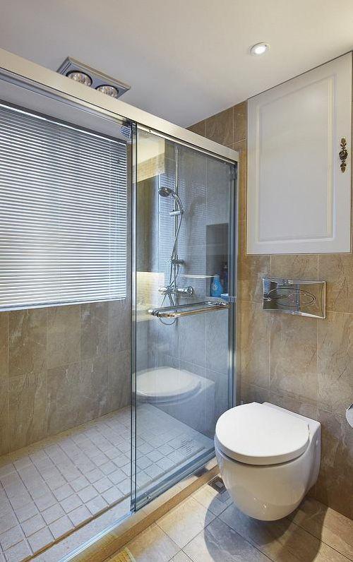 欧式新古典混搭卫生间装修案例