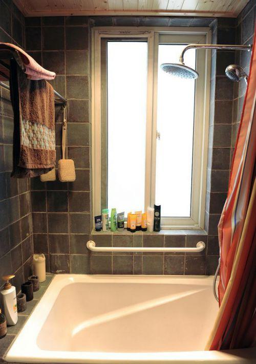 现代简约田园美式卫生间装修案例