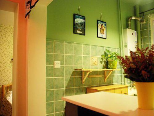 日式混搭卫生间图片