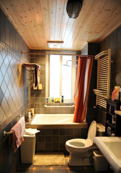 现代简约田园美式卫生间装修效果展示
