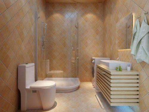 欧式简欧卫生间浴室设计方案