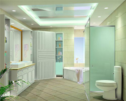 简欧卫生间设计方案