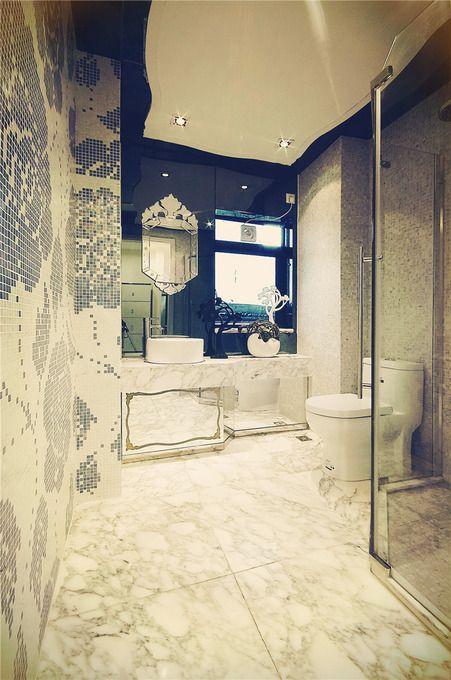 新古典古典卫生间三居装修图