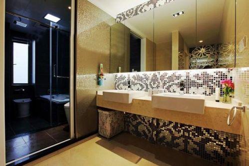 现代简约新古典卫生间设计方案