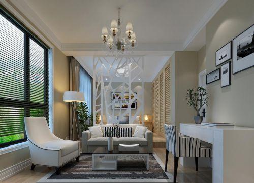 现代简约卧室书房别墅吊顶窗帘沙发门窗灯具设计案例