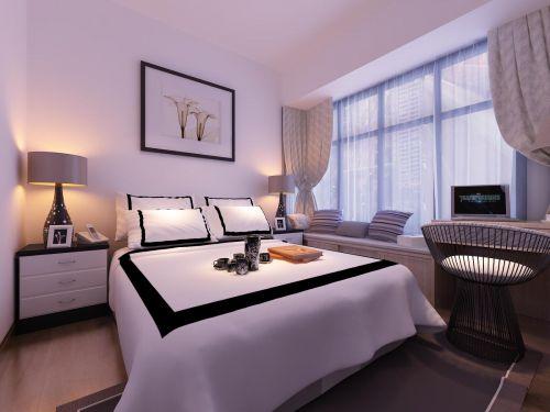 现代简约卧室设计方案