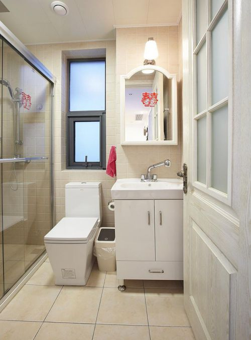 地中海美式混搭卫生间设计案例展示