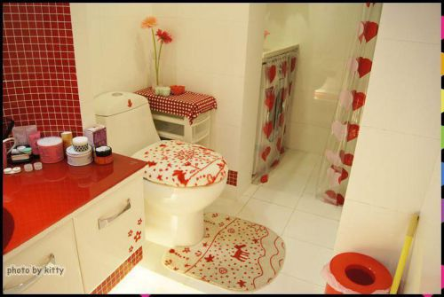 现代简约韩式混搭卫生间案例展示