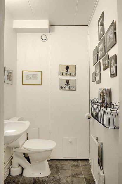 现代简约混搭卫生间装修案例