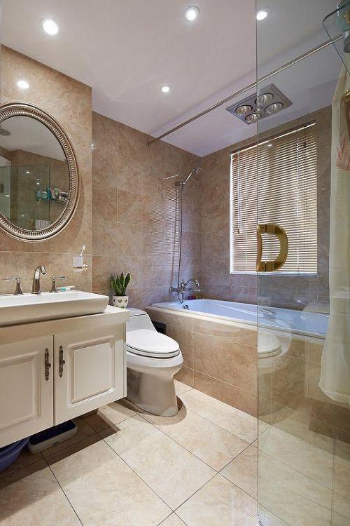 欧式新古典混搭卫生间设计案例展示