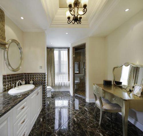 现代简约美式混搭卫生间设计案例