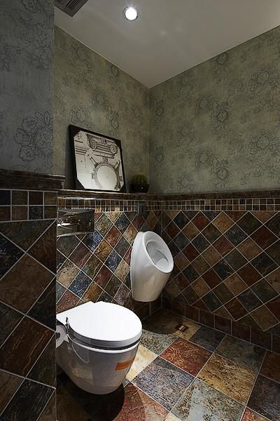 美式混搭卫生间效果图