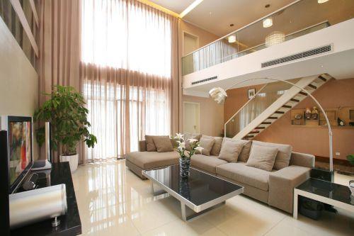 现代简约客厅设计方案