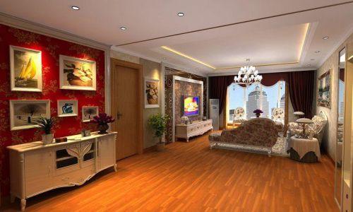 欧式客厅门厅装修案例