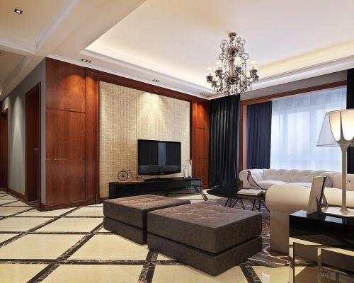 欧式客厅--高清效果图-欧式 (405)