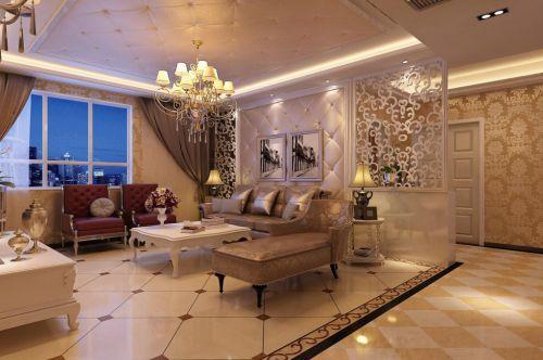 欧式欧式风格客厅设计案例