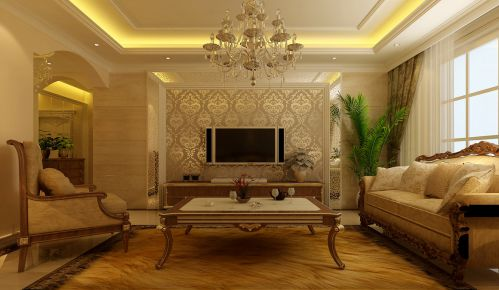 欧式欧式风格客厅设计方案