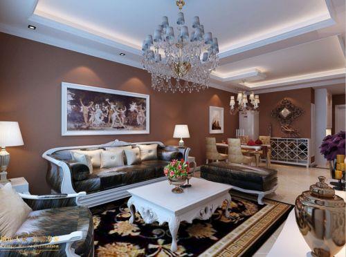 欧式简约欧式风格客厅设计案例