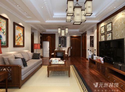 中式客厅别墅案例展示