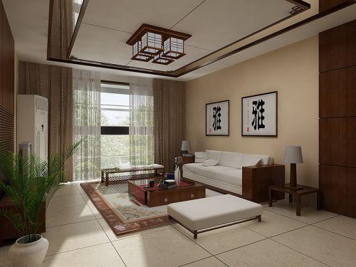 中式客厅吊顶设计案例展示