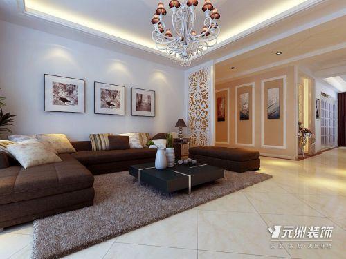 欧式混搭客厅设计方案