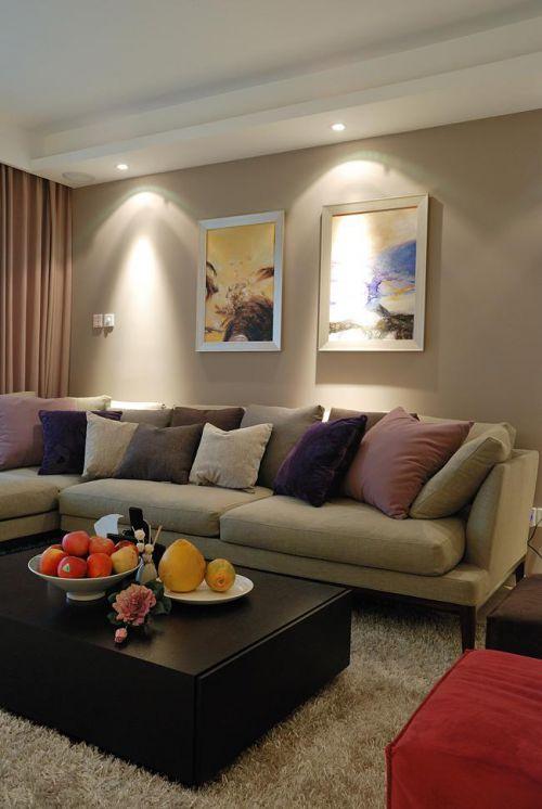 现代简约中式混搭客厅图片