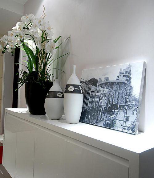 现代简约卧室吧台设计图