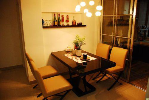 现代简约日式餐厅装修案例