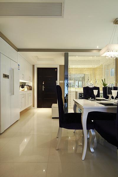 现代简约餐厅图片