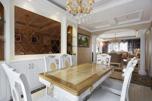 欧式新古典精致餐厅案例展示