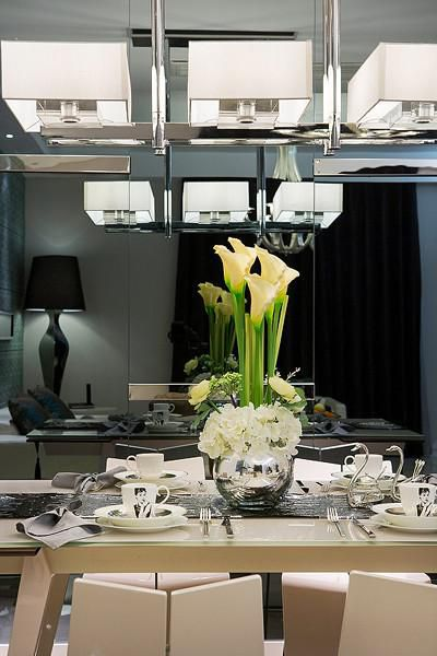 现代简约欧式餐厅图片