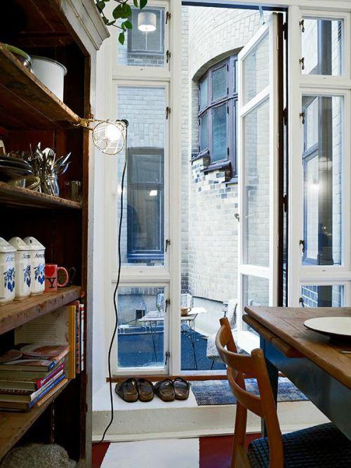现代简约地中海美式混搭复古餐厅设计图