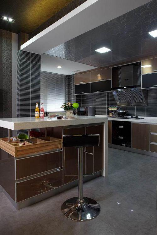 现代简约厨房吊顶案例展示