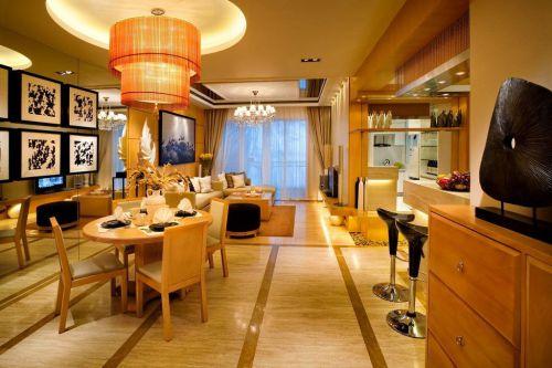 现代简约简欧混搭餐厅案例展示