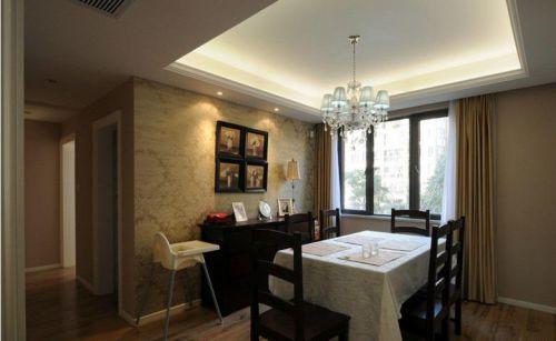 中式美式混搭餐厅设计案例展示