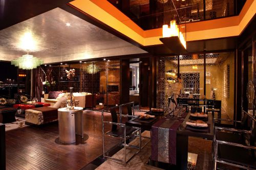 现代简约中式混搭餐厅装修案例