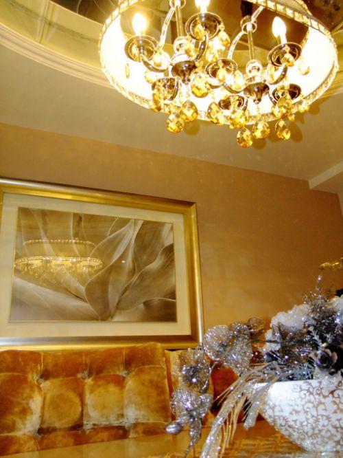 新古典餐廳吊頂裝修案例
