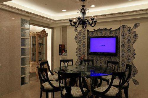 中式新古典古典时尚餐厅案例展示
