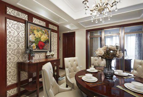 欧式新古典餐厅设计案例